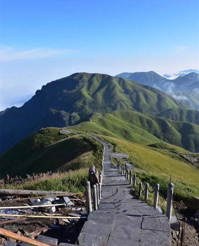 武功山穿越风景