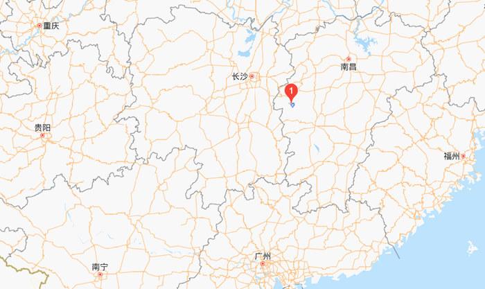 武功山在哪里?(江西武功山的详细地址与地图)2