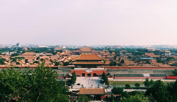 北京十大名胜古迹10:景山公园