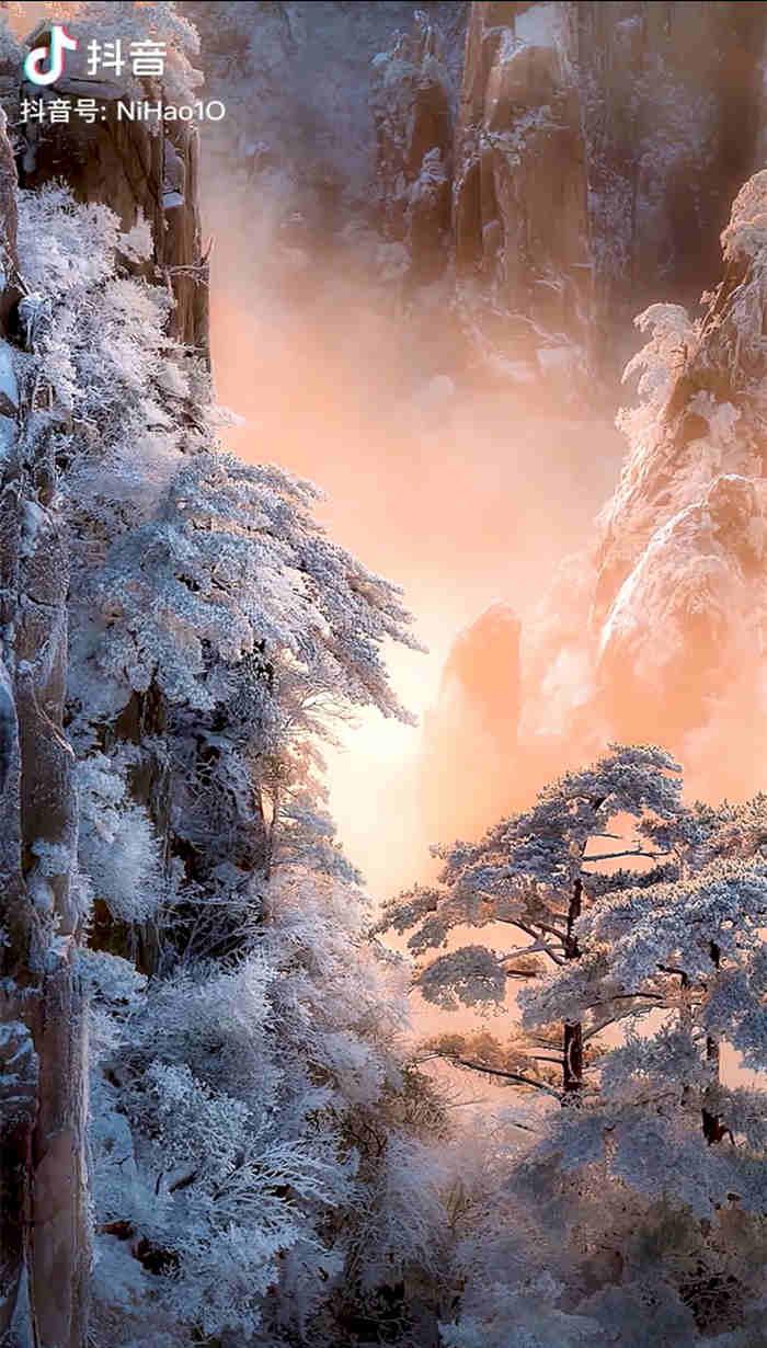 一组美得让人窒息的雾凇雪景2