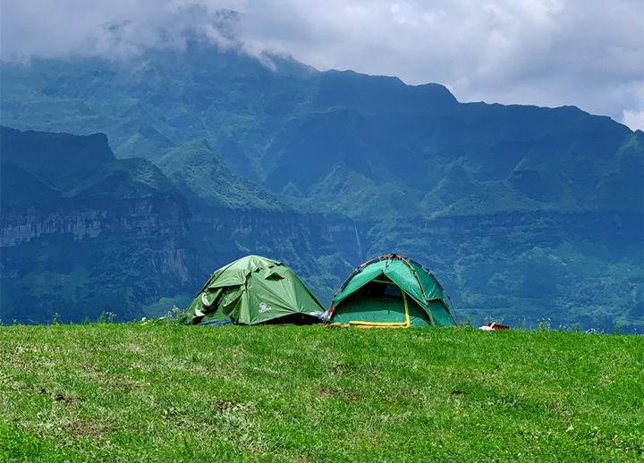 马尿水瀑布游玩最佳露营地