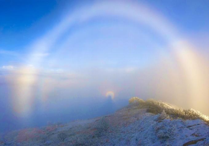 带你去看美丽的风景:牛背山云海的壮美2
