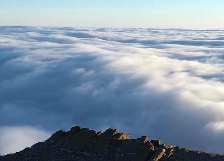 带你去看美丽的风景:华尖云峰浩瀚无边的云海之美