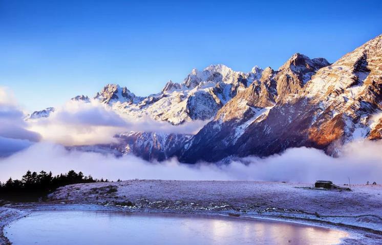 五一看雪--玉龙雪山