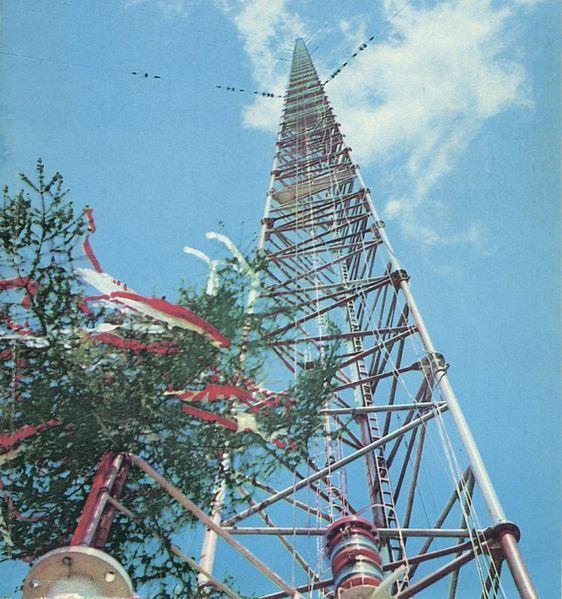 世界上最高的塔第二名:华沙电台广播塔