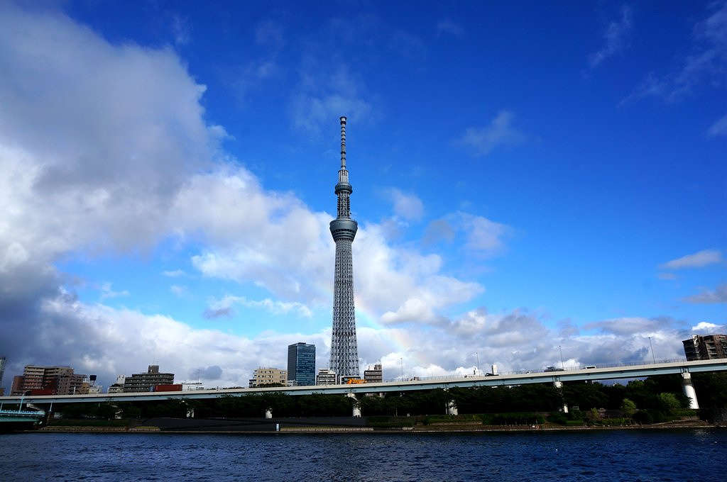 世界上最高的塔第三名:东京晴空塔