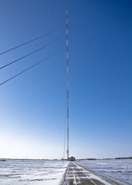 世界上最高的塔第四名:KVLY电视塔