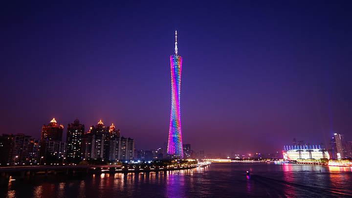 世界上最高的塔第五名:广州塔