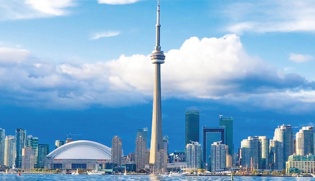 世界上最高的塔第六名:加拿大国家电视塔