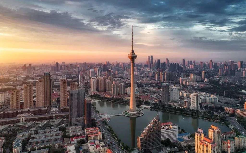 世界上最高的塔第十一名:天津广播电视塔