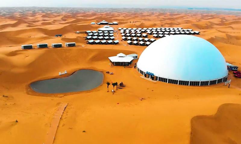 带你去看一个像火星基地的酒店--中卫星星沙漠酒店2