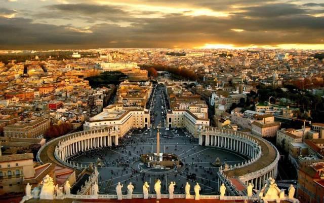 欧洲最小的国家--梵蒂冈
