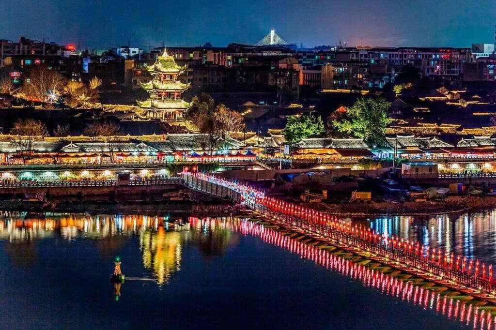 中国四大古城2:阆中古城