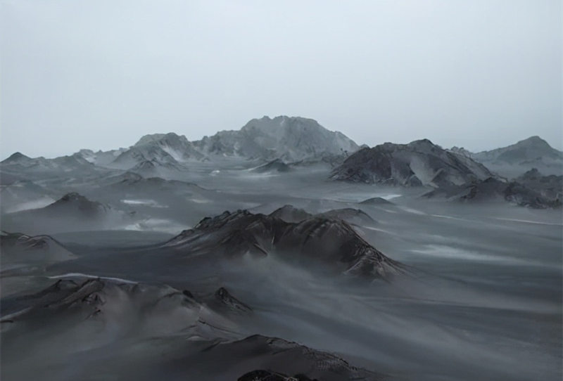 中国7个最像外星球的地方 2、冷湖黑独山