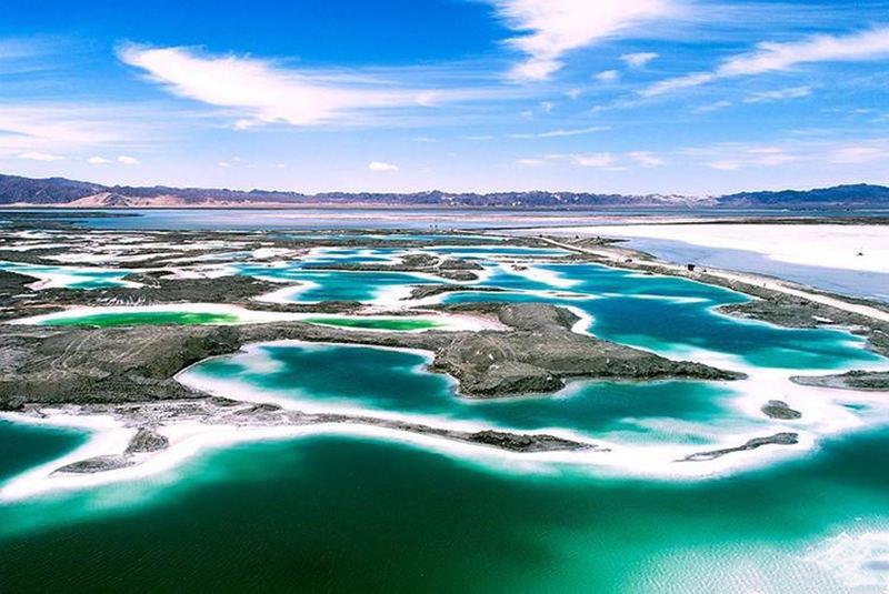 中国7个最像外星球的地方5、青海翡翠湖