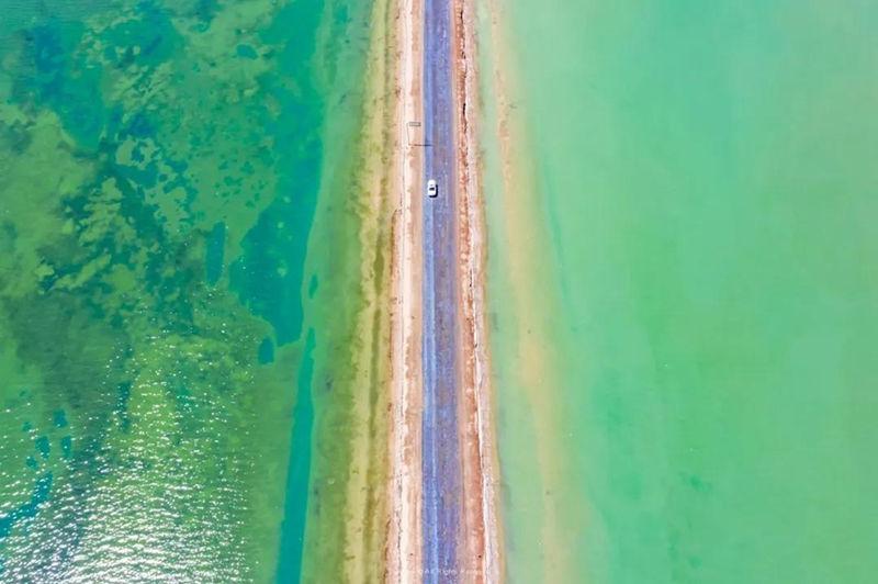 青海柴达木盆地10大旅游景点5:西台吉乃尔湖