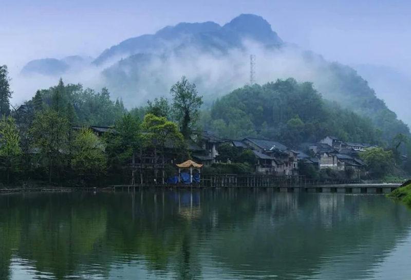 """柳江古镇,一个隐藏在四川的""""江南美景"""""""