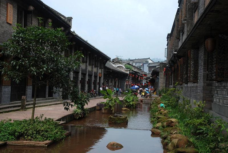 """柳江古镇,一个隐藏在四川的""""江南美景""""2"""