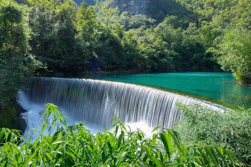 贵州5A级景区3:荔波樟江风景名胜区