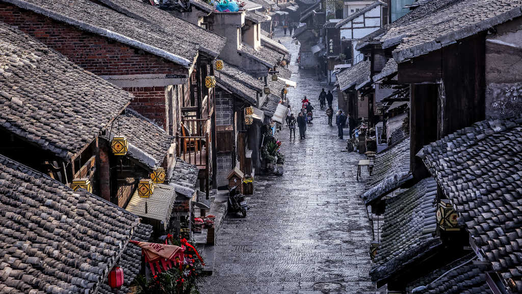 贵州5A级景区7:青岩古镇
