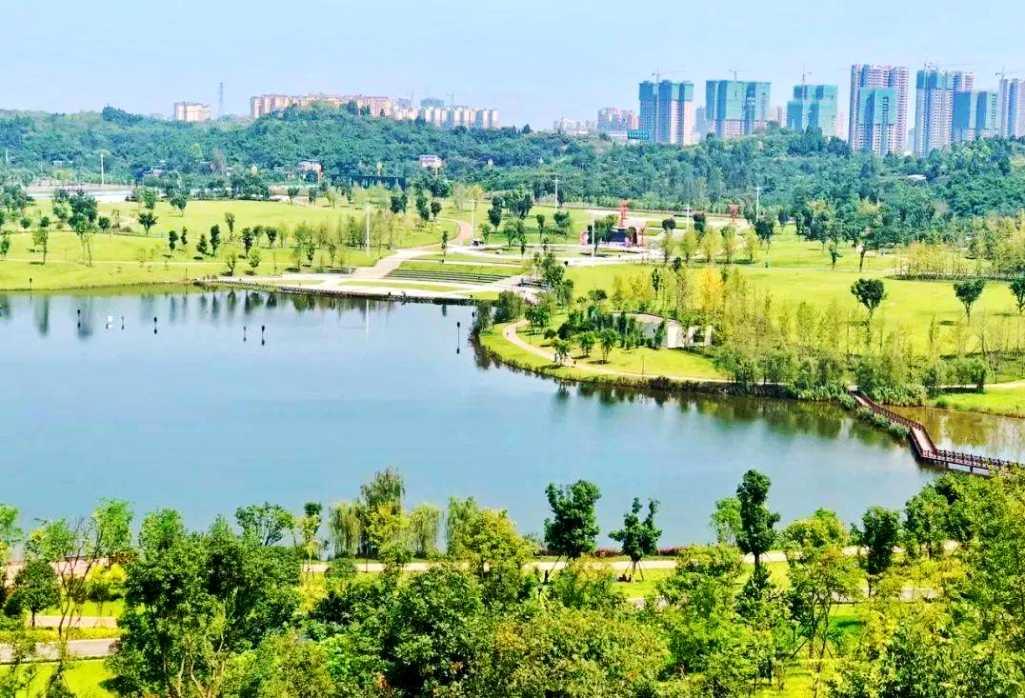 景点1:研溪湿地公园