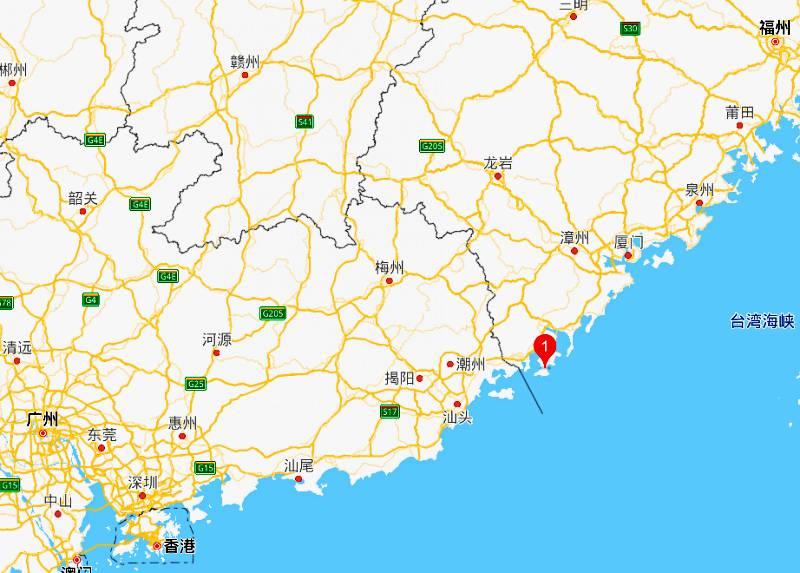 东山岛在哪里?东山岛怎么去?漳州东山岛的位置与地图