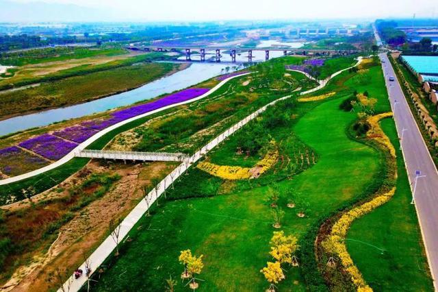 带你去看山西汾河生态治理后的美景2