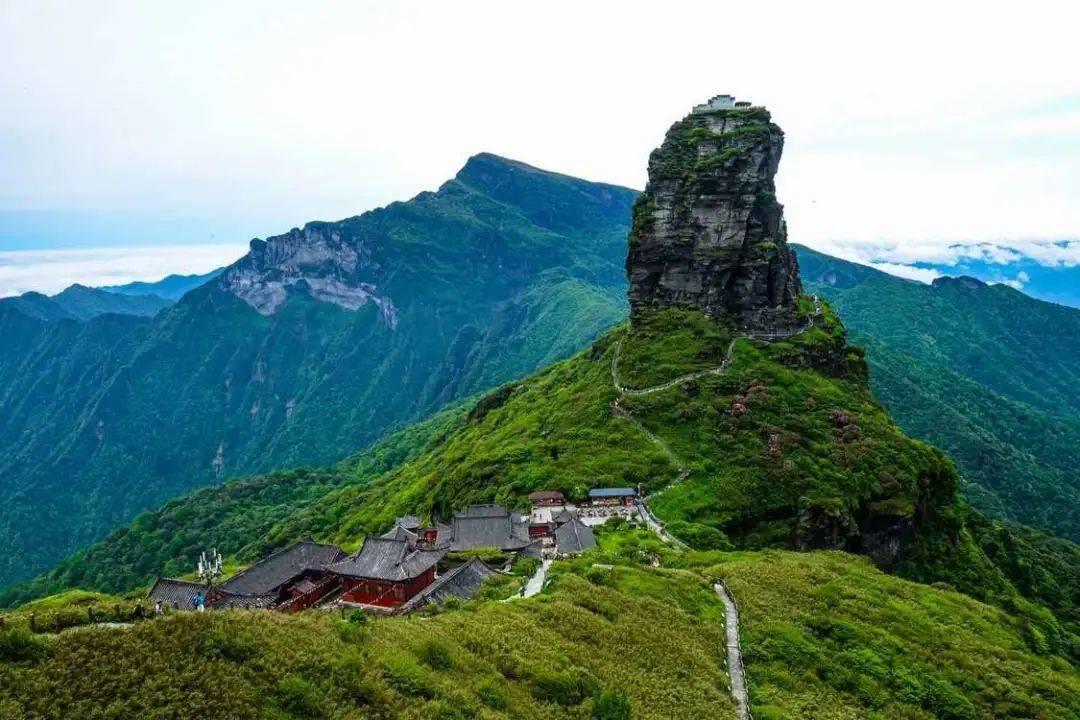 贵州的梵净山
