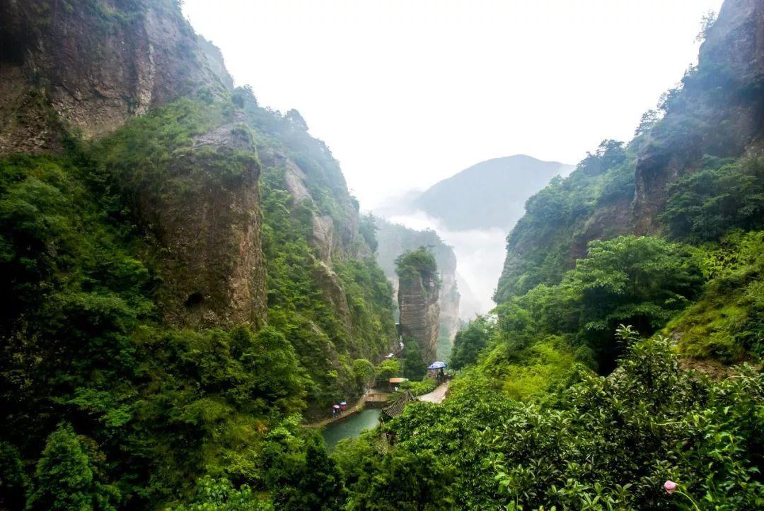浙江的雁荡山