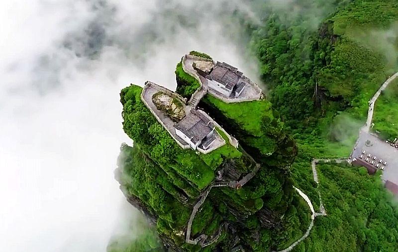 中国十大人间仙境4、梵天净土,通往佛国的天空之城--梵净山